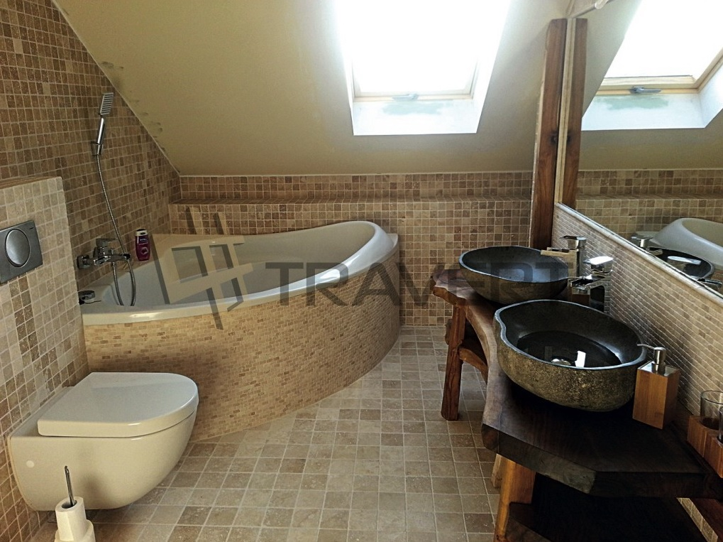 Kúpeľňa z prírodného kameňa