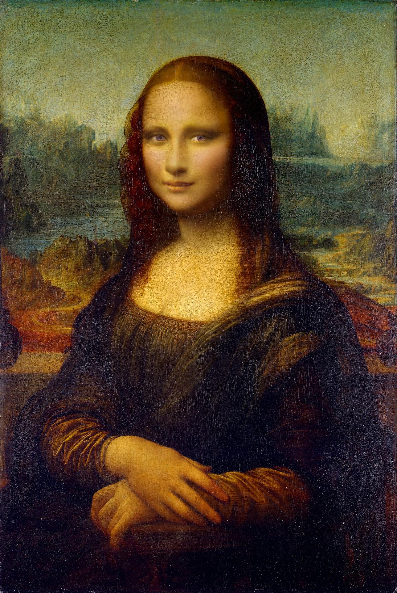 Mona Lisa (Zdroj: https://pixabay.com/en/mona-lisa-painting-leonardo-da-vinci-1846585/)