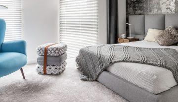 Kontinentálna posteľ pre pohodlný spánok