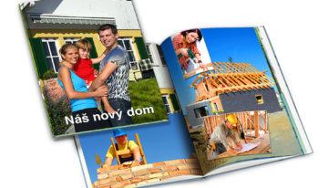 Vytvorte si fotoknihu z rekonštrukcie