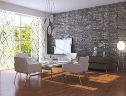 Vychytávka do malého bytu? Japonské steny