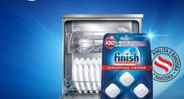 Vyskúšajte prípravky do umývačky riadu Finish a krok vedľa rozhodne neurobíte