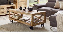Staré dvere či stolík na kolieskach – aj toto môžete mať vo svojej obývačke