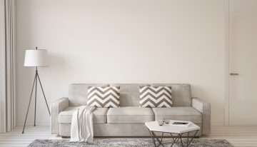 Aké dekorácie a nábytok vyberať, aby ste sa mohli pochváliť modernou obývačkou?