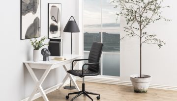 Nápady pre malé domáce kancelárie, vďaka ktorým využijete priestor na maximum